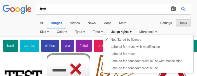 google images лицензи
